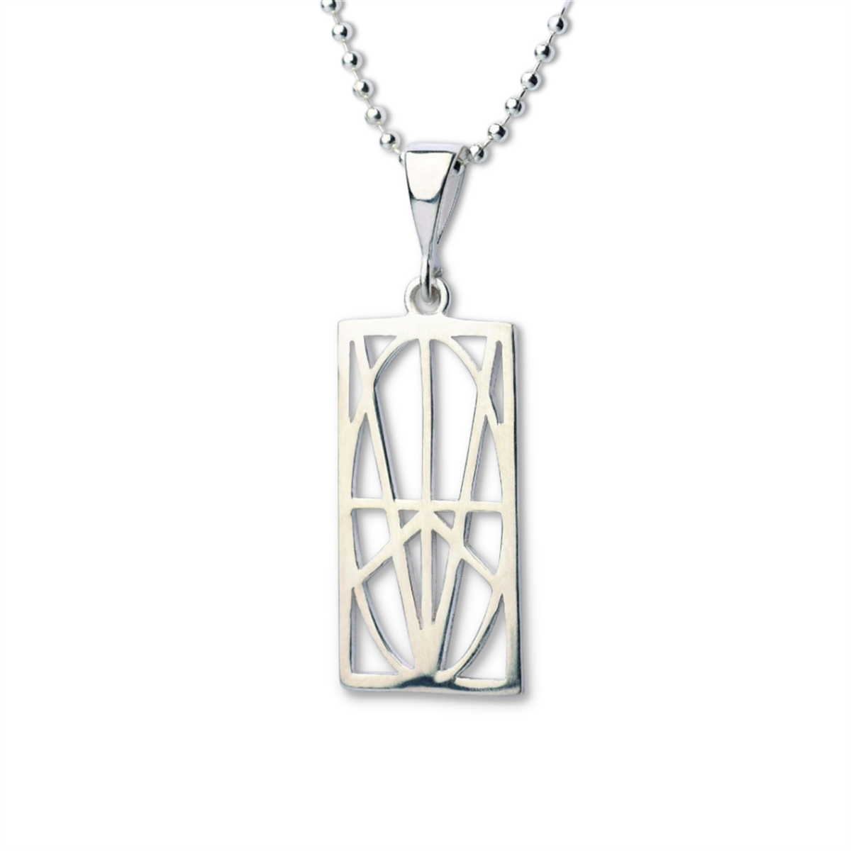 Picture of Men's Small Sterling Silver Pendant