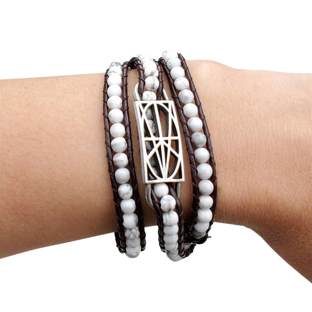 Picture of LIMITED EDITION White Wrap Bracelet